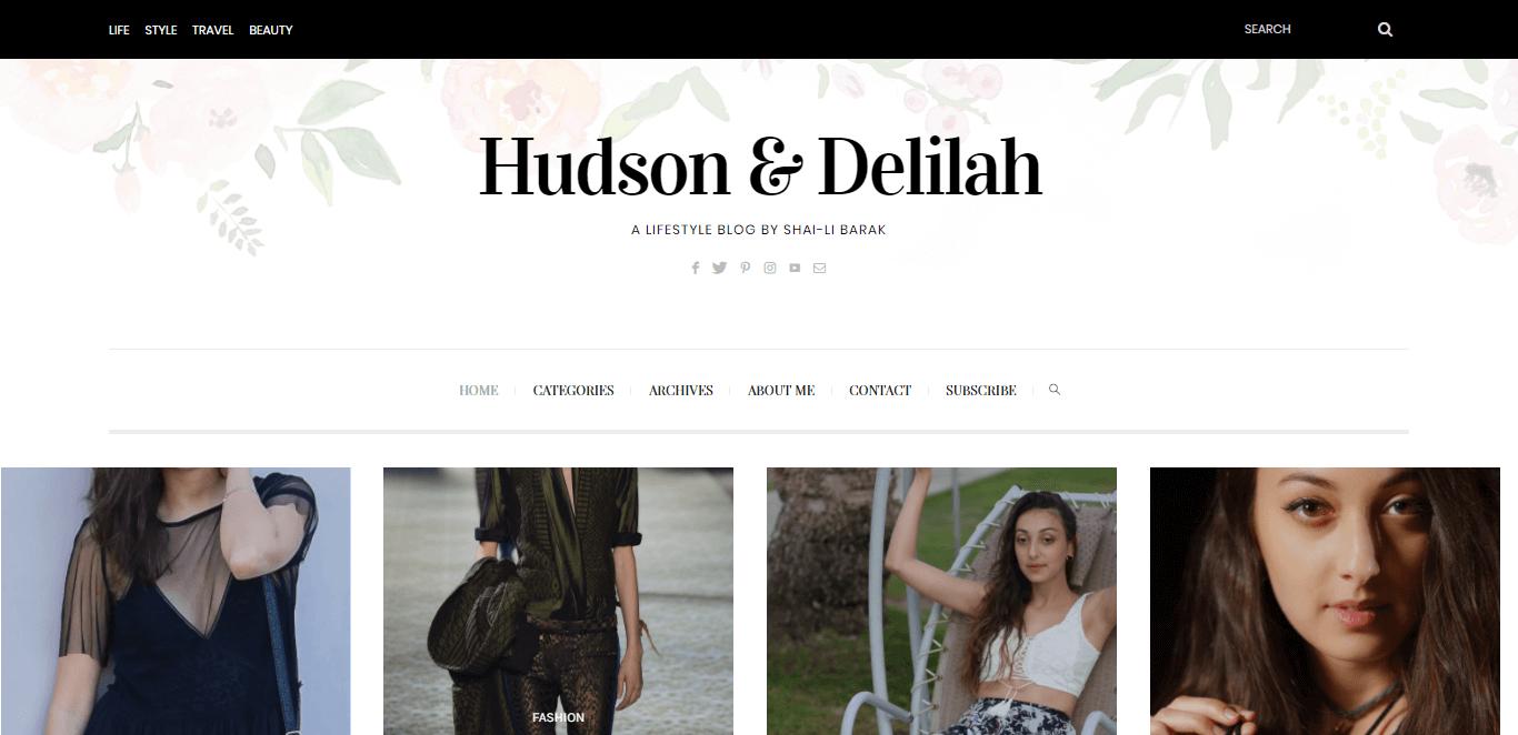Hudson & Delilah